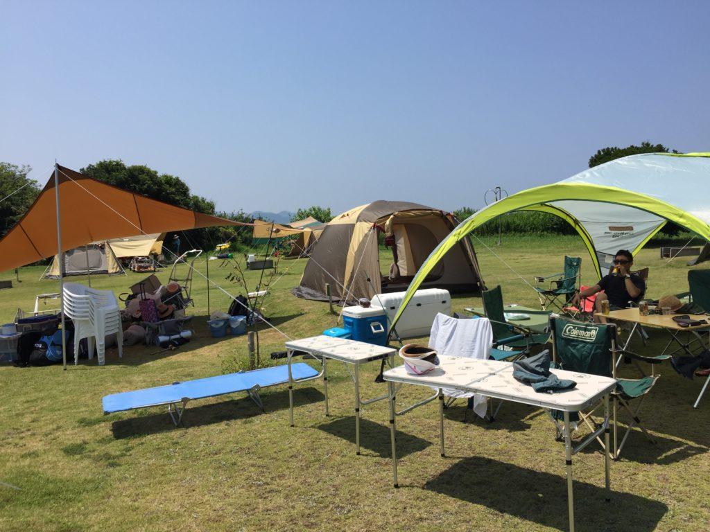 のんびらんど うましまのキャンプ場